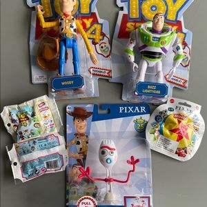 Bundle: NWT Toy Story Figures+Series 3 Minis